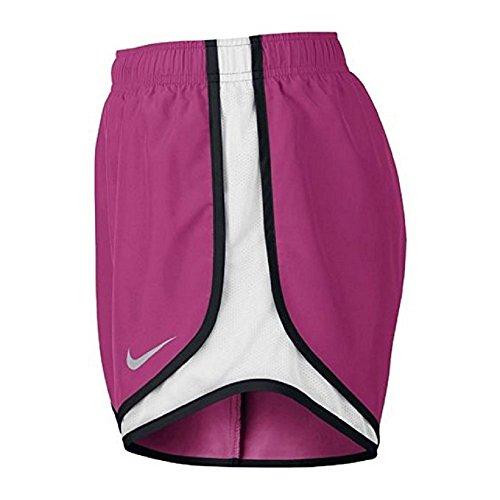 Damen Nike Dry Tempo Running Short Vivid Pink / Weiß / Schwarz