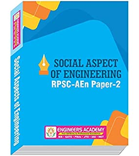 Buy SOCIAL ASPECTS OF ENGINEERING (GUIDE FOR RPSC AEn MAINS