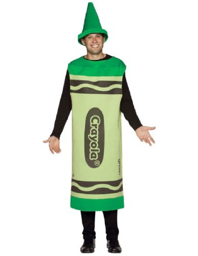 Crayola Adult Costume Size: Large / Extra Large, Color: Green - Chewbacca Costume Female