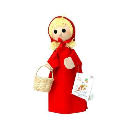 ABA Aba71098Petit chaperon Marionnette, 28cm, Rouge