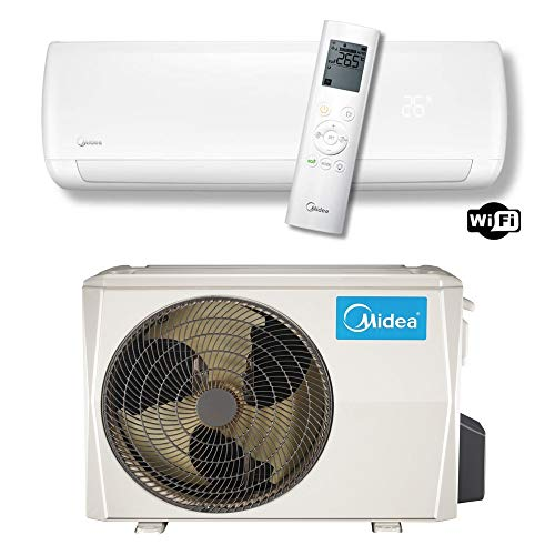 MIDEA Mission Series 12000 BTU WiFi Split-Air Conditioner 220 Volts Export Only