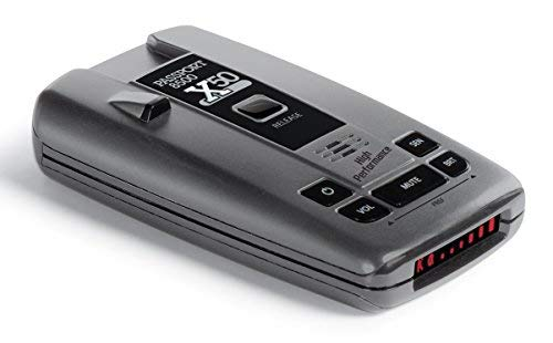 Escort Passport 8500X50 Black Radar Detector, Red Display (Best Undetectable Radar Detector)