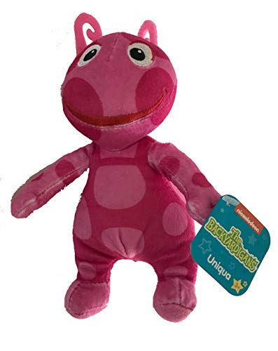 Backyardigans Friend Plush Bean Uniqua 8 inch Nick Jr