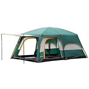 KH3S Large Family Party Camping Tent Double Layer 2 Guest Room 1 Hall 4 Season Tent Outdoor Camping Travel Tent