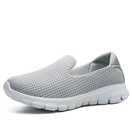 Shoes Grey Shoes Fashion Women Toe Summer Spring Sneaker Shoes Winter Loafers GUNAINDMX On Slip Round Casual gxHZ6XX