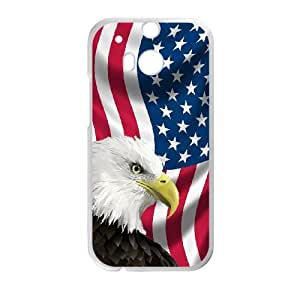 HTC One M8 Phone Case USA American Flag Protective Cell Phone Cases Cover TTR148610