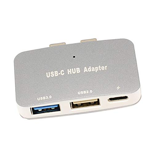 MagiDeal USB C Hub Multiport Adapter,Portable Combo Hub with USB C Charging Port USB 3.0/ USB 2.0 Ports for MacBook Pro Gray by Unknown (Image #8)