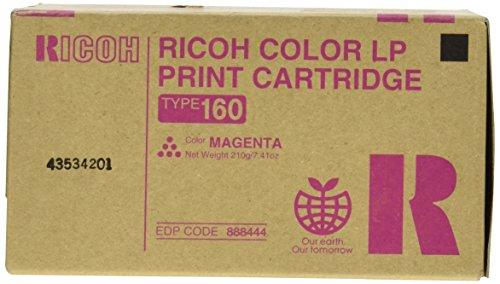 Ricoh 888444 Ricoh 888442, 888443, 888444, 888445 - Type 160 Toner Cartridge RIC888444 RIC 888444 ()