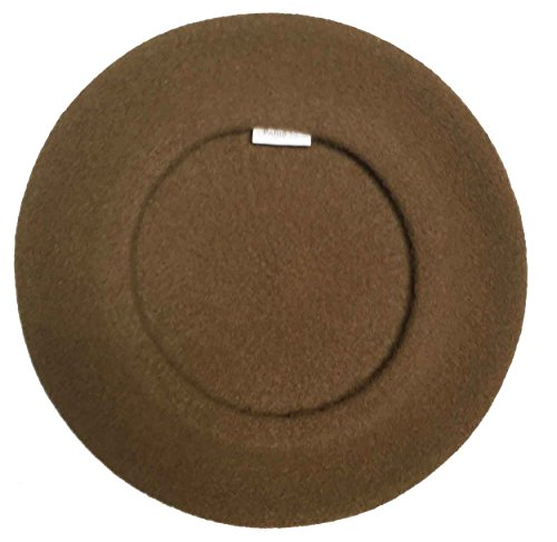 Laulhere Traditional French Wool Beret, Taupe