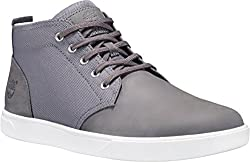 Timberland Men's Groveton Ltt Chukka Lf Fashion Sneaker, Steeple Grey Nubuckcordura, 8.5 M Us