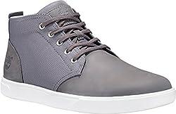 Timberland Men's Groveton Ltt Chukka Lf Fashion Sneaker, Steeple Grey Nubuckcordura, 8.5 M Us