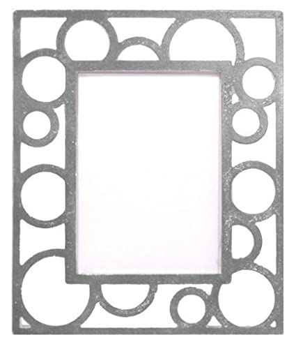 Amazon.com: KAREN FOSTER Design Scrapbooking Metal Frames, Bubbles ...