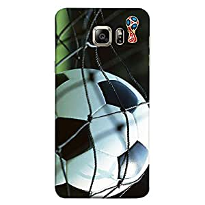 ColorKing Samsung S6 Edge Football Multicolor Case shell cover - Fifa Cup 17