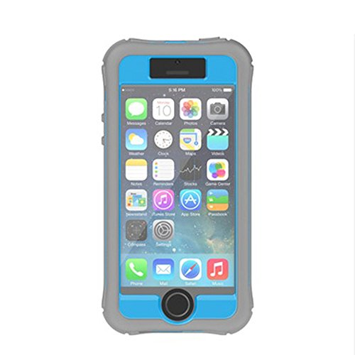 (Ballistic Every1 Series Case for iPhone 5/5s - Retail Packaging - Baby Blue/Charcoal Gray )