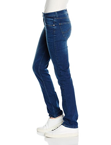 Women's Lee Blue Sky Marion Night Straight Jeans dwrrZqI