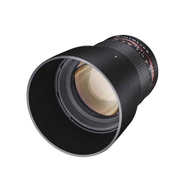 RetinaPix Samyang SY85M-C 85mm F/1.4 Prime Lens for Canon (Black)
