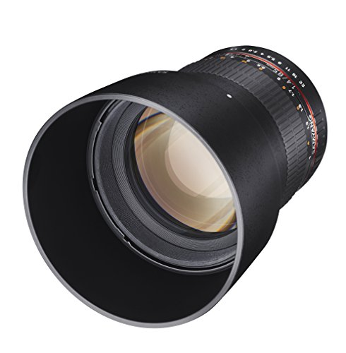 Samyang SY85M-C 85mm F1.4 Fixed Lens for Canon