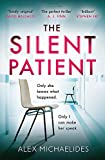 Book cover from The Silent Patient by Mark Sullivan