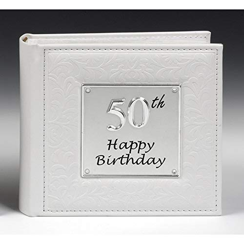 Deluxe 50th Birthday Party Photo Picture Album Gift by Shudehill by The Album Shop