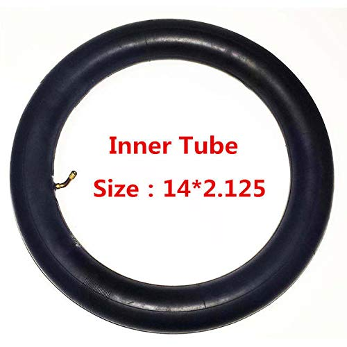 Kingstar Electric Bicycle or Scooter Inner Tube (Bent Valve, 14X2.125)