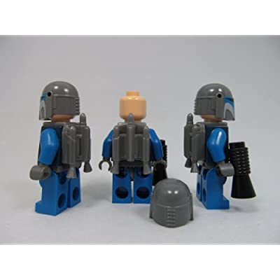 LEGO Star Wars Mandalorian Guard Lot (X3) Minifigures: Toys & Games
