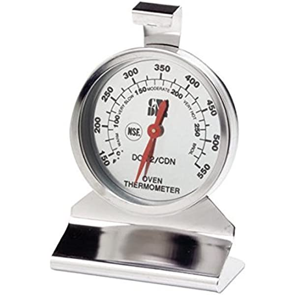 New Home Stainless Steel Temperature Oven Thermometer Gauge Kitchen Food FO