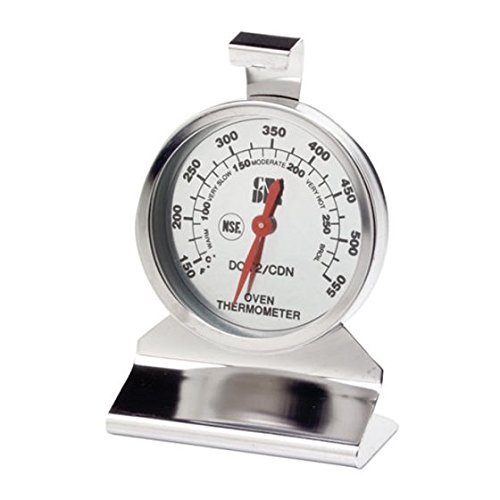 CDN DOT2 ProAccurate Oven Thermometer, The Best Oven Thermometer for Instant Read in Food Cooking. Stainless Steel For Monitoring Oven Temperatures. Large Dial. NSF Certified
