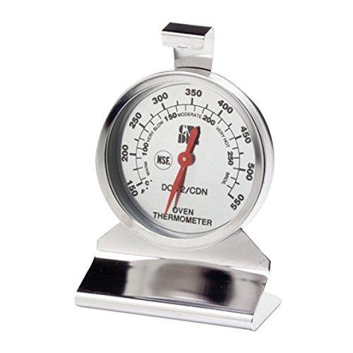 CDN DOT2 termómetro de horno termómetro, acero inoxidable para ...