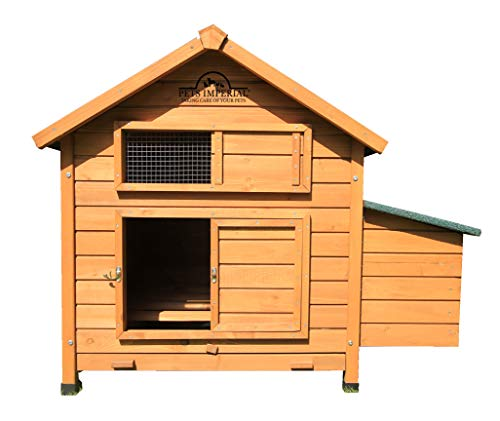 Pets Imperial Single Savoy Large Chicken Coop with Nest Box Suitable for Up to 6 Birds Depending on - Imperial Single Imperial