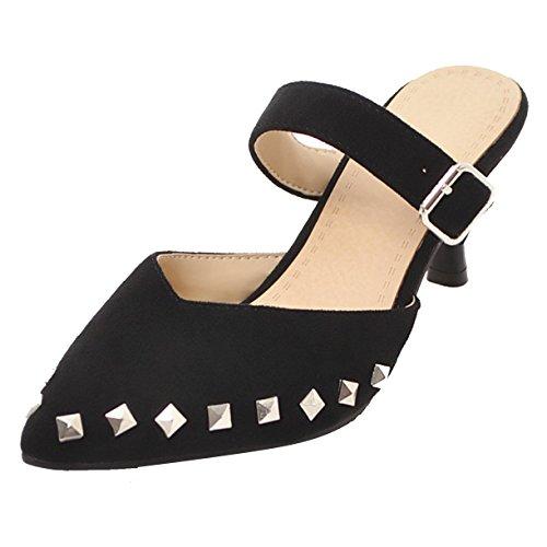 Femme Noir Mules Mules Noir JYshoes Femme JYshoes 184zcqXSc
