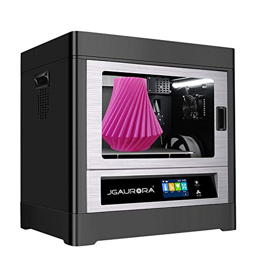 JGMAKER Large 3D Printer Commercial Grade A8S Fully Closed Metal Structure Resume Filament Runs Out Detection Build Volume 350x250x300mm (Best Commercial 3d Printer)
