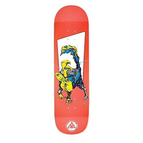 Welcome Pack Rat on Big Bunyip Skateboard Deck - White Lighting Slick Bottom - 8.5