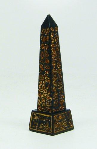 - 3 Inch Obelisk Structure Egyptian Mythological Resin Statue Figurine