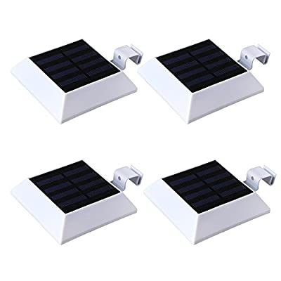 Solar 6 LED Gutter Lights