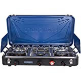 Stansport Outfitter Series Propane Camp Stove for Camping and Outdoor Cooking
