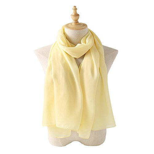 Buy yellow large scarf
