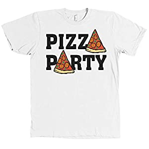 Pizza Party Bella + Canvas T Shirt Pepperoni Slice Funny New with Tags