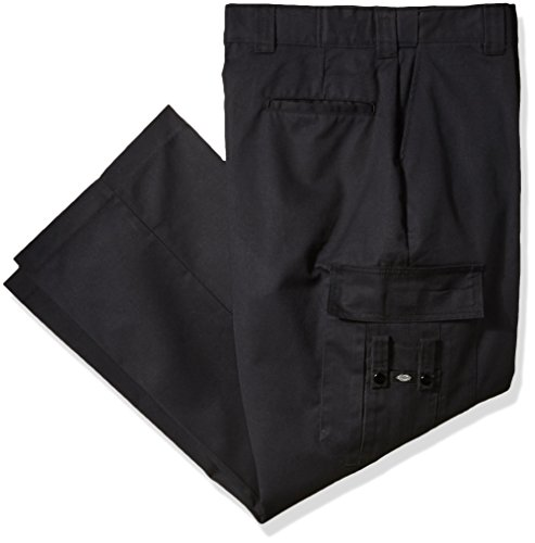 Dickies Men's Flex Comfort Waist EMT Pant Big, Black, 46 30