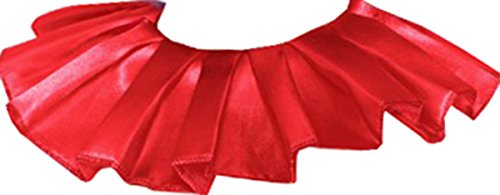 Film And Tv Fancy Dress (Unisex Funnyside Film & Tv Fancy Dress Party Clown Neck Ruffle Red Pack Of 3)