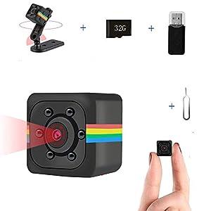 Flashandfocus.com 41r0RPjoYWL._SS300_ Mini Camera Wireless 1080P HD Camera, Sensor car DVR Smart Home Security Camera Small Camera Support TF Card Built-in…