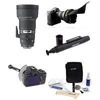 Sigma 300mm f/2.8 EX DG APO HSM Lens for Nikon DSLR Cameras - Bundle with Flex Lens Shade, FocusShifter DSLR Follow Focus & Rack Focus, Cleaning Kit, LensPen Cleaner
