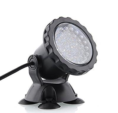 Deckey Waterproof 36 LED Submersible Spotlight Landscape Lamp for Aquarium Fish Tank, Garden Fountain, Pond Pool
