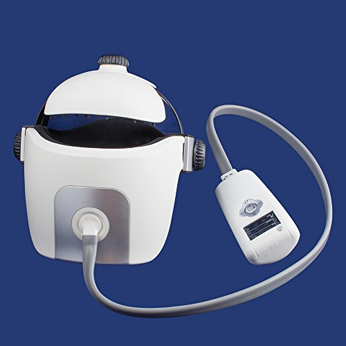 Genmine Electric Head Massager Helmet Type Brain Eye Neck Acupressure Massage With Vibration Relax Acupuncture Points For Relaxation & Stress Massage With Music by Genmine (Image #8)