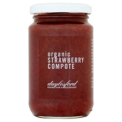 Daylesford Organic Strawberry Compote 350g (Round Compote)