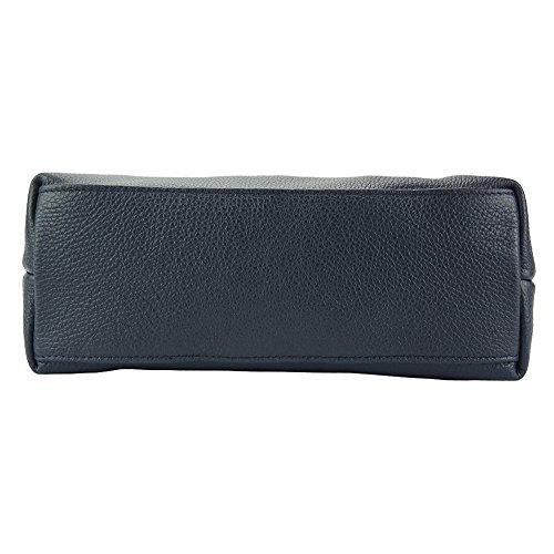 Shoulder Blue Quality Mafalda Leather With Bag Dark High 9120 wwgrqP1a4