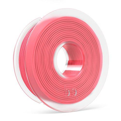 BQ F000124 – Filamento PLA de diámetro 1.75 mm, 300 g, color coral