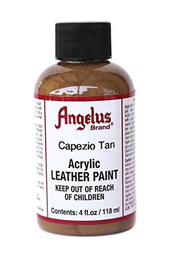 Angelus Acrylic Leather Paint-4oz.-Capezio Tan