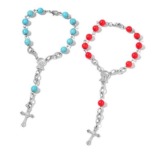 (Shop LC Delivering Joy Set of 2 Bracelet Stainless Steel Silvertone Steel Jewelry for Women Size 8