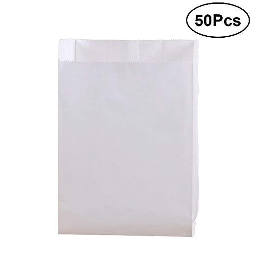 BESTONZON 50 piezas pequeñas bolsas de bocadillos de papel ...