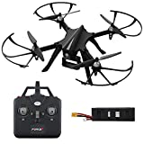 Compatible GoPro Drone for Adults and Kids – Drone Ghost F100 for Long Range Drone for Beginners and Pros w/ Brushless Motors (Drone Camera Not Included)